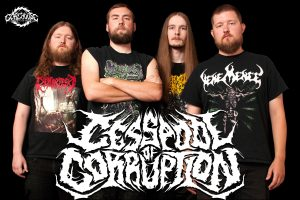 "CESSPOOL OF CORRUPTION: Premiere ""Lurking Beyond the Veil"", 2019 Demo"