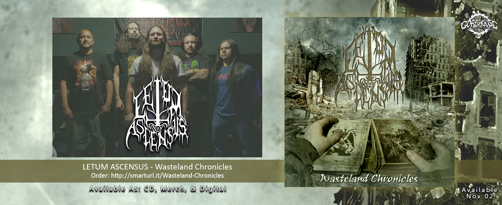 GHP056 - Letum Ascensus - Wasteland Chronicles