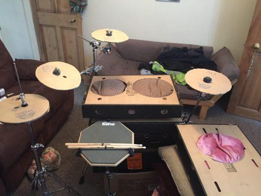 FOETAL JUICE Built Drum Kit During Self-Quarantine; Release Innovative Drum-Playthrough Video For 'Gluttony'