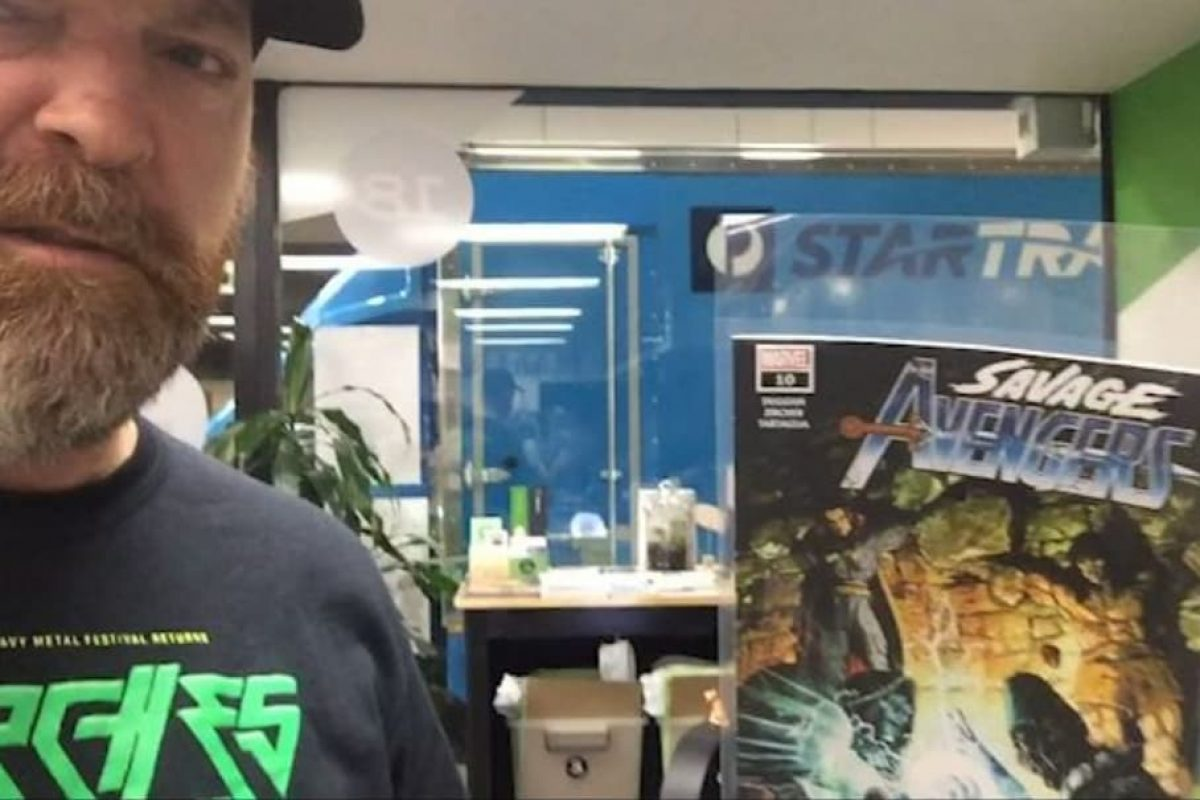 OATH OF DAMNATION Launches Comic Book Store Takeover Video