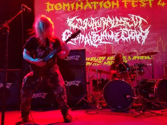 "ENGUTTURALMENT CEPHALOSLAMECTOMY Premiere ""8.1.2 And Life (Pitriffs Gone Wild)"""