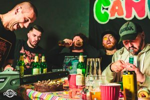 PARTY CANNON Re-Signs With Gore House Productions; New Album Coming 2021